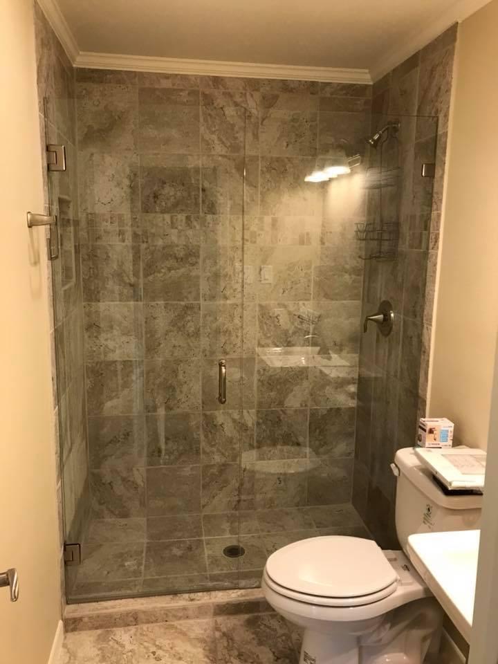 glass shower